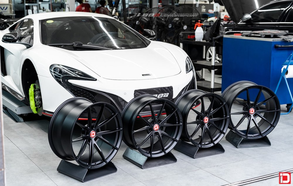 McLaren 650S – KlasseniD Wheels MS03 Matte Black