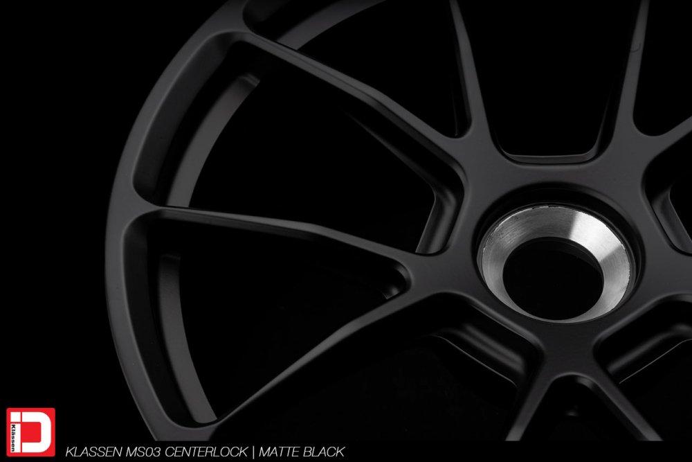 KlassenID Wheels | MS03 Centerlock | Matte Black