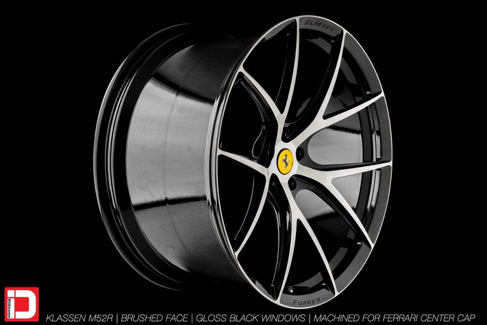 KlasseniD Wheels M52R – Brushed with Gloss Black Windows 3
