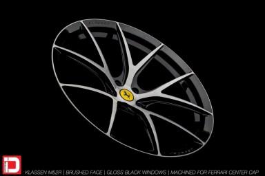 KlasseniD Wheels M52R - Brushed with Gloss Black Windows 6