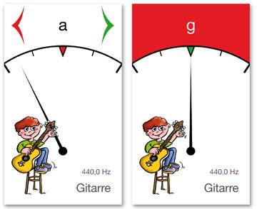 Guitar Tuner für Guitar Colour System