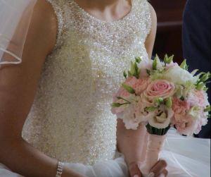 Bukiet ślubny w kolorze różowym dekoracje na ślub Chojnice  Bukiet ślubny w kolorze różowym eustoma, goździk, piwonia Klaudia Krzyżaniak Photo from gregory135 11 e1545942099643