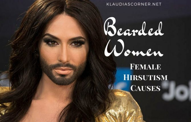 Real Bearded Women - Female Hirsutism Causes