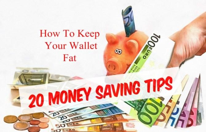 20 Money Saving Tips
