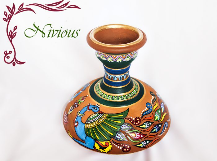 Pot Painting Designs To Die For - Let Yourself Be Enchanted By Nivious Arts