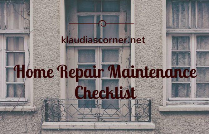 Home Repair Maintenance