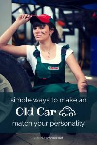 How to Customize Your Own Car - klaudiascorner.net©
