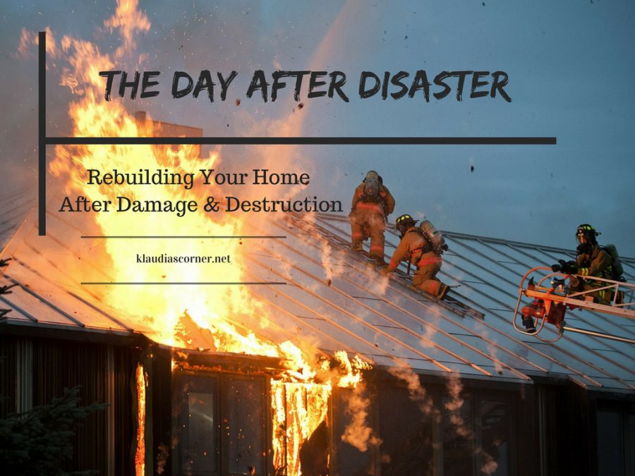 The Day After Disaster