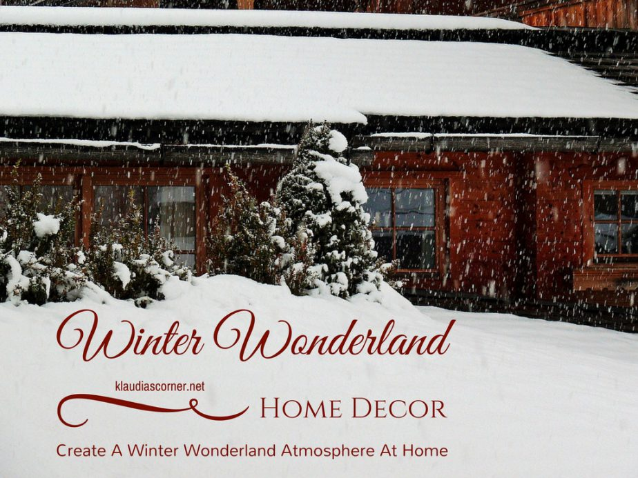 winter wonderland home decor how to create a winter