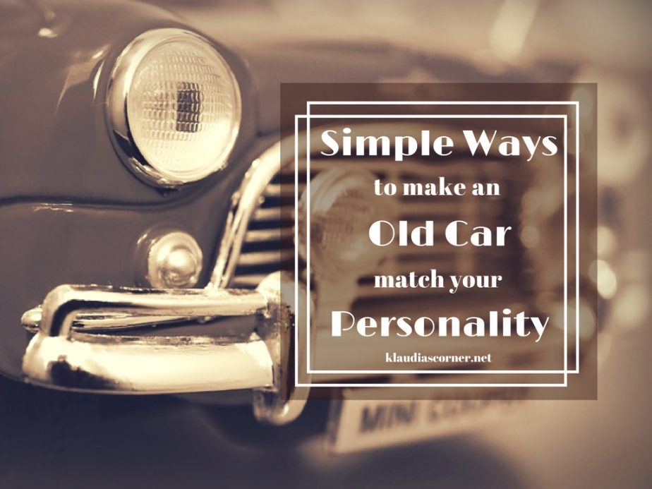 How To Customize Your Own Car - klaudiascorner.net