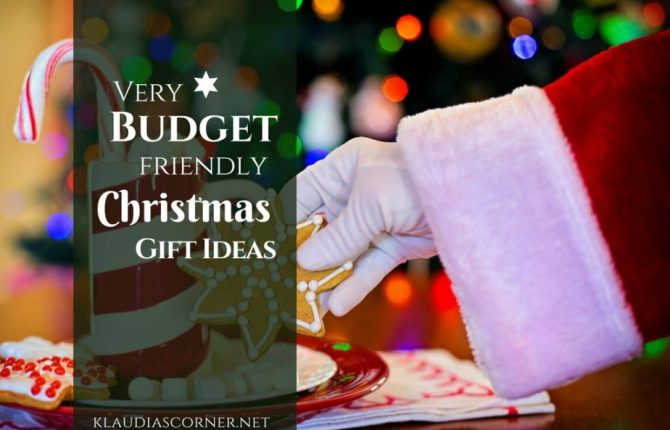 Best Last Minute Christmas Gifts - Frugal Christmas gift Ideas - klaudiascorner.net