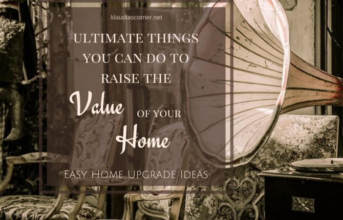 Easy Home Upgrade Ideas