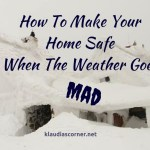 Check The Weather Forecast- How To Make Your Home Safe When The Weather Is Wild