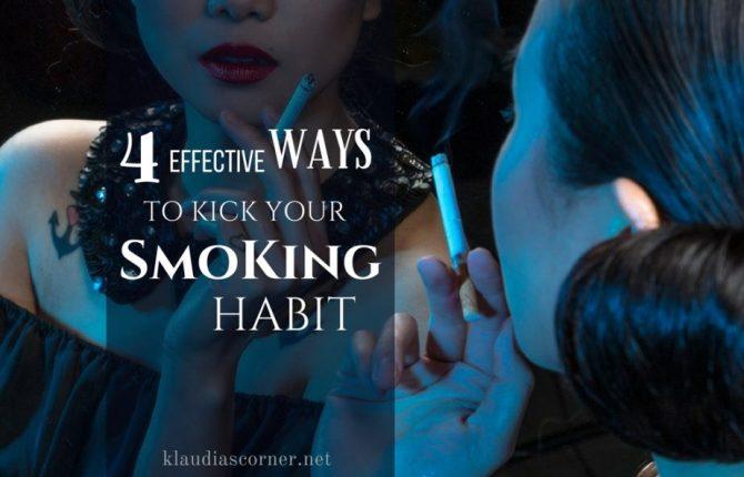 Quit Smoking Help Guide - 4 Effective Ways To Kick Your Smoking Habit