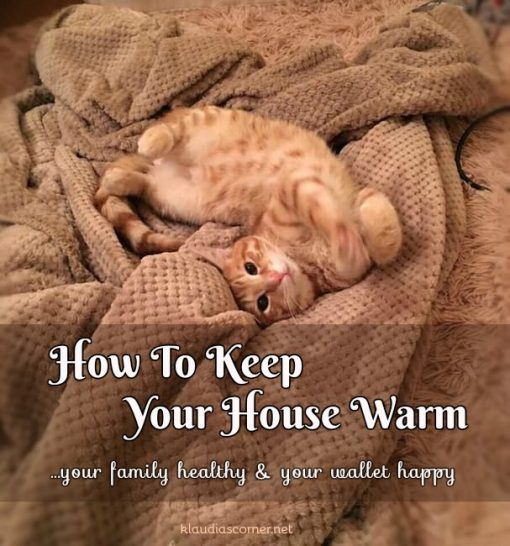 How To Keep Your House Warm