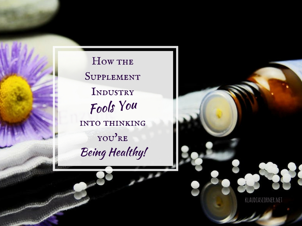 Vitamin Supplements And Health Benefits - How The Supplement Industry Fools You Into Thinking You're Being Healthy