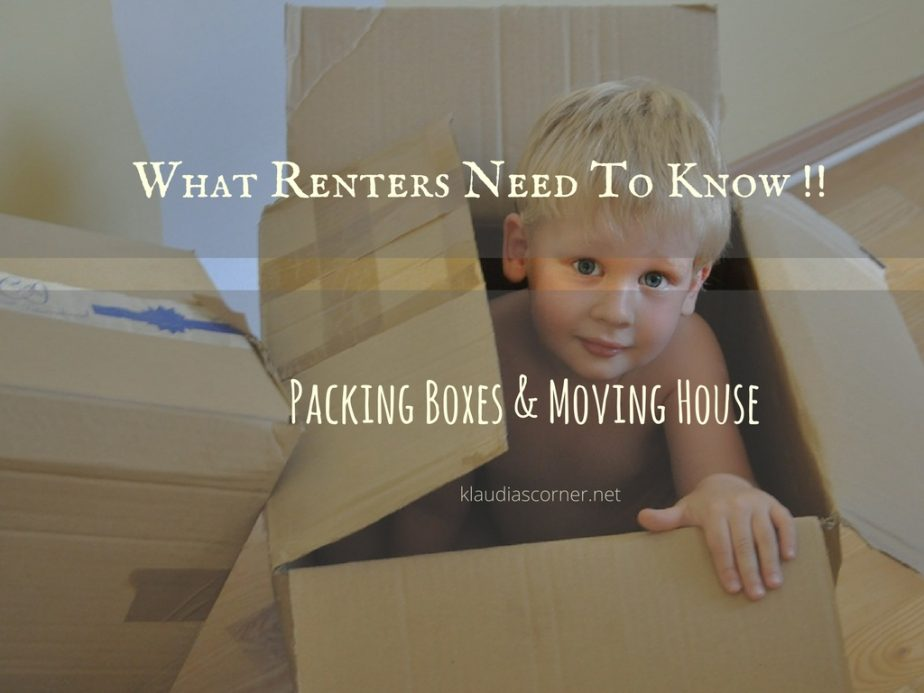 Packing Boxes Moving House