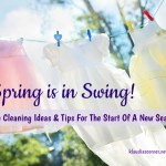 House Cleaning Ideas For The Start Of A New Season – Spring Is In The Swing!