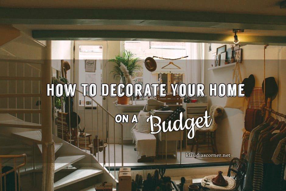 cheap home improvement ideas-how to decorate your home on a budget |