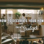 Cheap Home Improvement Ideas- How To Decorate Your Home On A Budget
