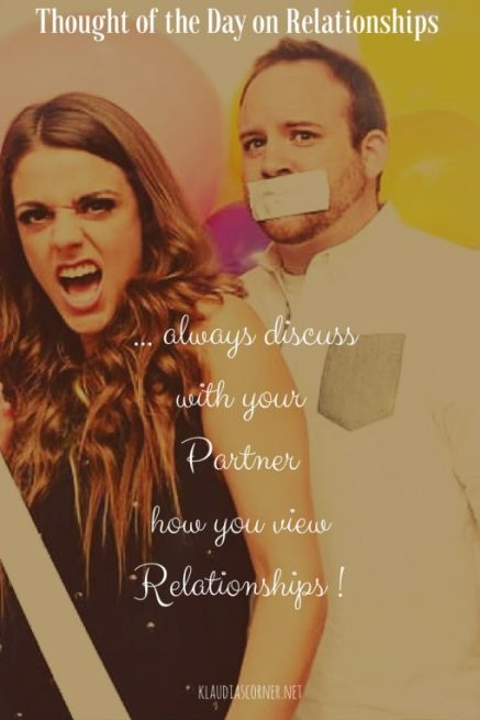 A Motivational Thought Of the Day On Relationships