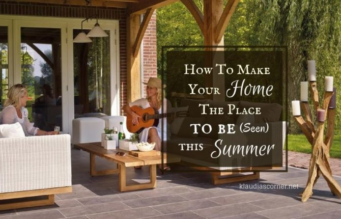 Unique Home Designs - How To Make Your House The Place To Be (Seen) This Summer