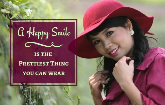 A Happy Smile :) Is The Prettiest Thing You Can Wear