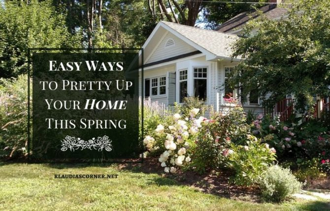 Landscaping Ideas For The Front of The House - Easy Ways to Pretty Up Your Home This Spring