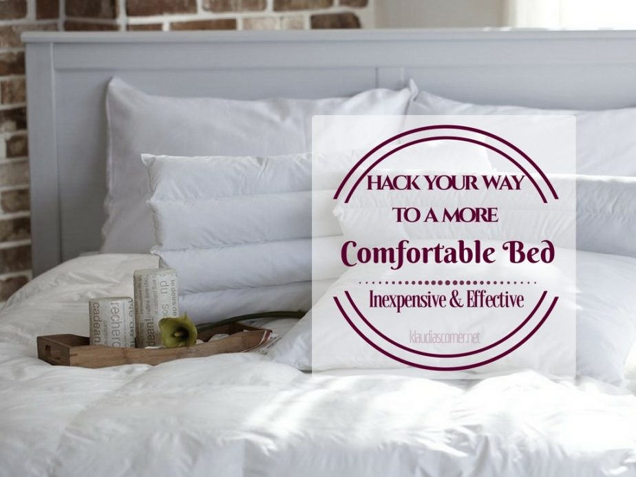 DIY Bedroom Ideas - Inexpensive & Effective Hacks To Make Your Bed More Comfortable