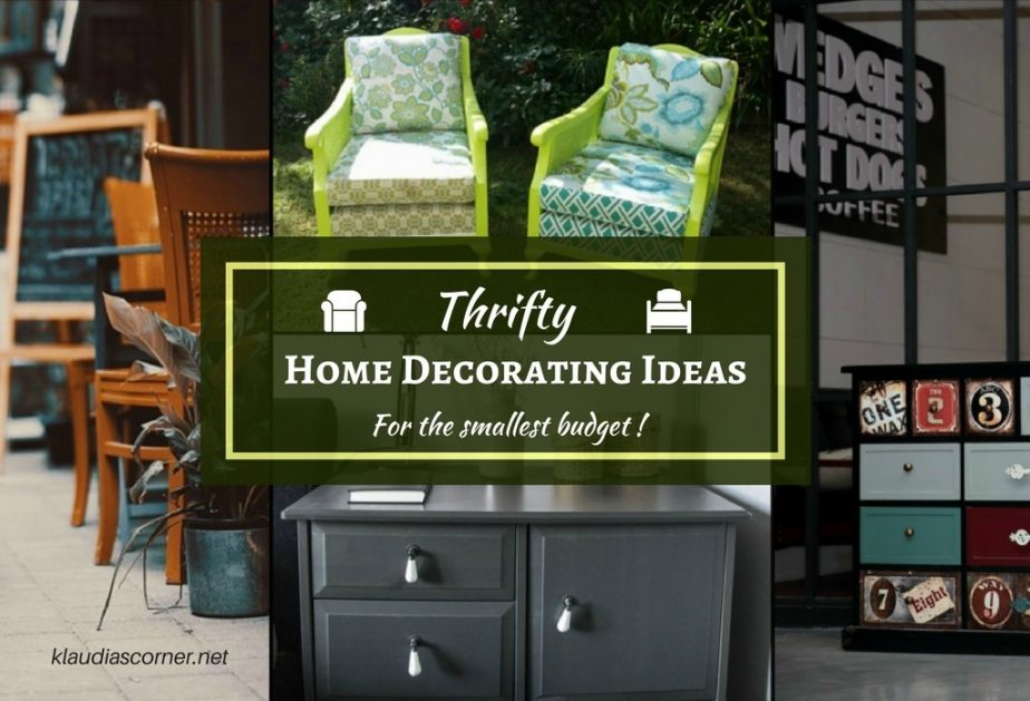 Cheap Home Decor Tips - Smart Home Decorating Ideas For The Small Budget