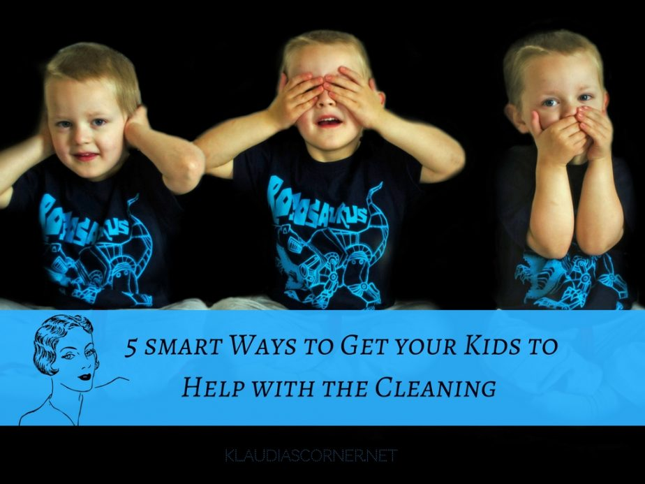 Little Helping Hands - 5 Smart Ways to Get Your Kids to Help With the Cleaning