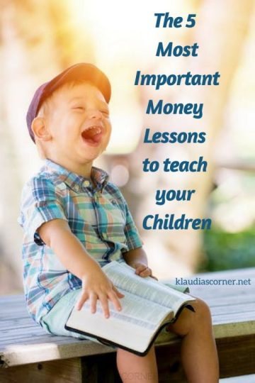 How To Teach The Kids The Value Of Money