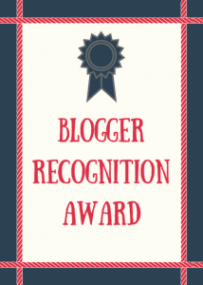 And The Blogger Recognition Award Goes To