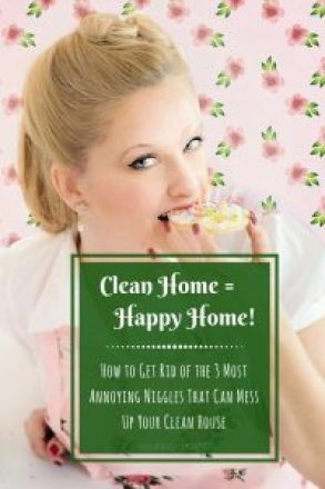 How To Get Rid Of The 3 Most Annoying Niggles That Mess Up Your Clean House - klaudiascorner.net©