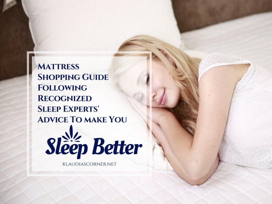 Howto Geta Better Sleep Mattress Insights for Your Sleeping Pleasure byRecognizedSleep Experts