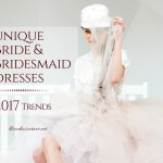 Wedding and Bridesmaid Dresses – Trends 2017
