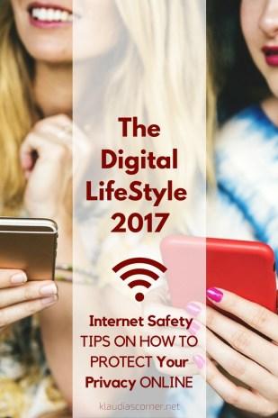 Digital Life 2017 - 5 Internet Safety Tips to Make your Digital Life Feel Extra Secure / klaudiascorner.net