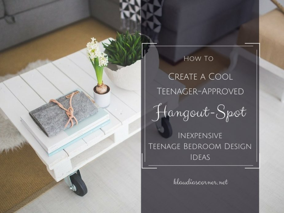 Teenage Bedroom Ideas – How to Create a Cool Teenager-Approved Hangout Spot