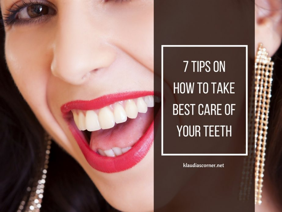 A Happy Smile Makes A Day - 7 Tips on How to Take Best Care of Your Teeth - klaudiascorner.net