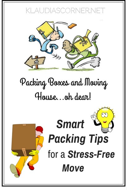 Packing Boxes And Moving House, Oh Dear! Smart Packing Tips For a Stress-Free Move
