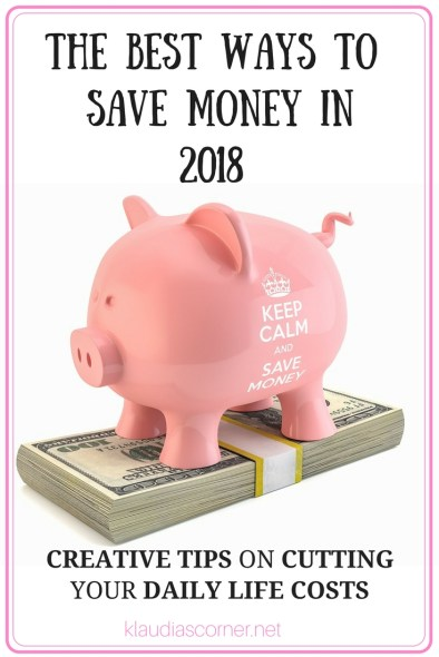 The Best Ways to Save Money in 2018 The Make Do Mend Mindset