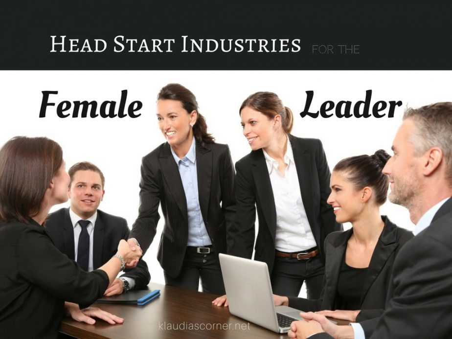 Women At The Top - Head Start Industries For The Female Leader