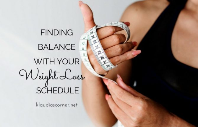 Healthy Weight Loss Plans & Programs Finding Balance With Your Weight Loss Schedule