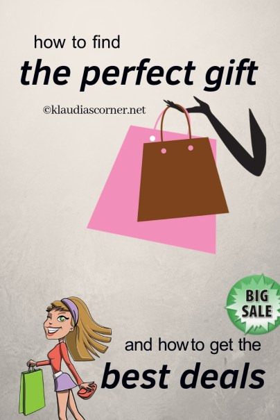 How To Find The Perfect Gift & How To Get The Best Deals