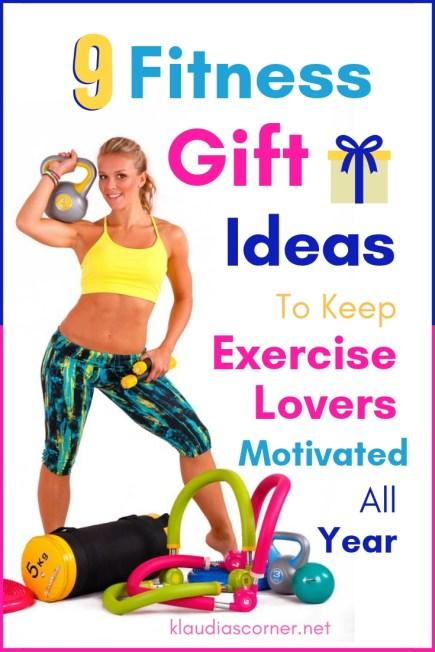 9 Fitness Gift Ideas for Exercise Lovers - klaudiascorner.net