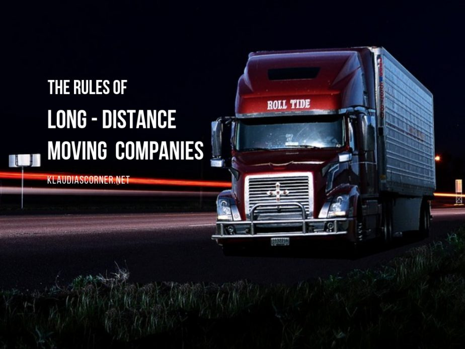 The Rules of Long Distance Moving Companies