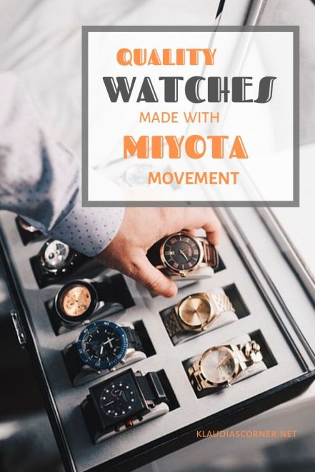 The Best Watches with Miyota Movement