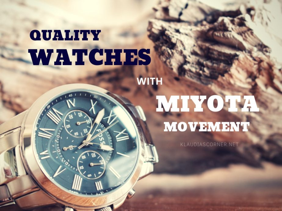 The Best Watches with Miyota Movement - klaudiascorner.net