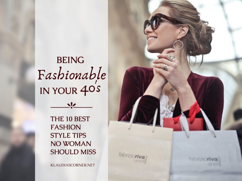 Fashion Styles For Women In Their 40s – 10 Awesome Style Tips