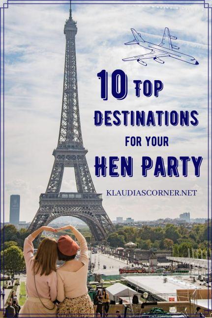 Hen Party Destinations